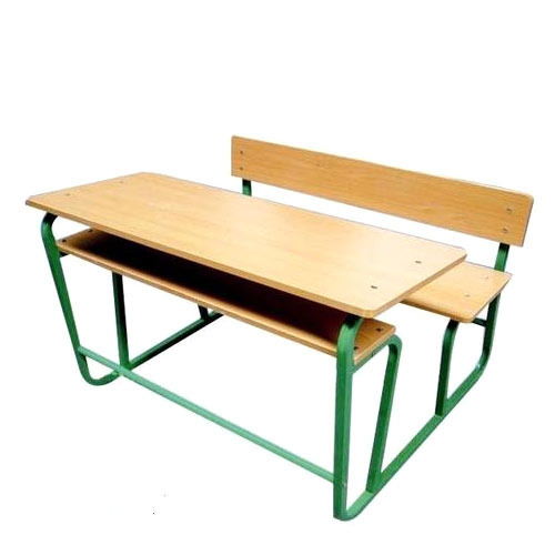 Double School Desks - Classroom Table with Chairs