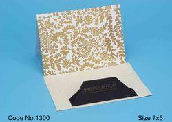 Handmade Paper Correspondence Stationery Card
