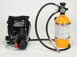 Air Respirator With Escape Cylinder