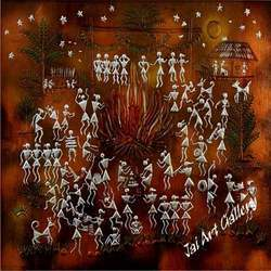Elements Warli Paintings