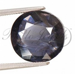 Brilliant Round Cut Brazilian Iolite Loose Gemstone