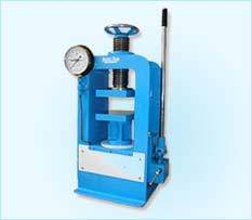 compression testing machine manually hand operated