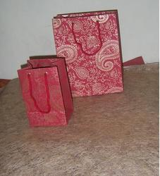 Paisley Printed Paper Bags Designs For Gifting