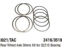 I021/TAC Rear Wheel Axle Shims Kit