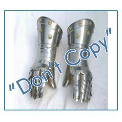 Metallic Hand Gloves