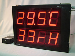 Temperature Humidity Display Single / Double Faced