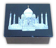 Exclusive Marble Jewellery Boxes With Taj Inlay