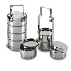 stainless steel tiffins tiffin box or bombay tiffin exporter from mumbai. Black Bedroom Furniture Sets. Home Design Ideas