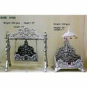 White Metal Decorative Jhoola