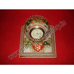 Marble Painted Clock