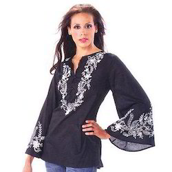 V Neck Ladies Kurta