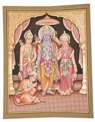 Ram Darbar Painting