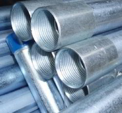 galvanised iron pipe tubes