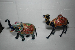 Metal Meena Animals