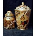 Marble Burni Jar With Painting