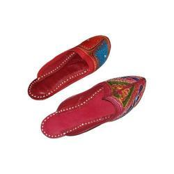 Ladies Ethnic Slippers
