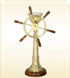 Ship Wheel Compass