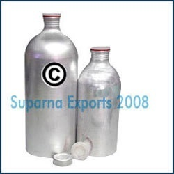250ml Aluminum Bottle with Screw Plug