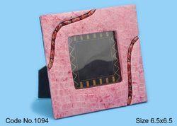 Leather Embossed Handmade Paper Photo Frames