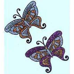 Beaded Butterfly Patterns / Blue Butterfly Bracelet Pattern