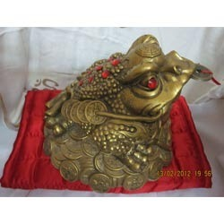 Frog With Coins Feng Shui