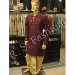 Designer Kurta With Dhoti