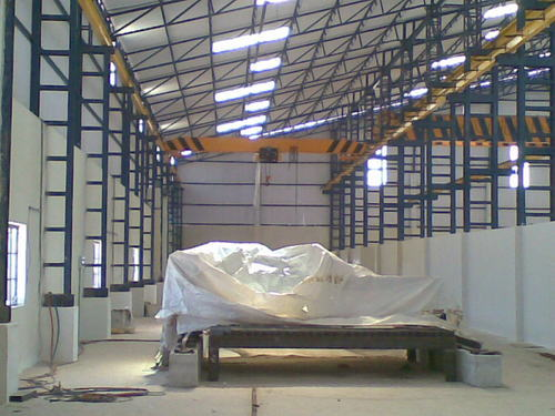 Industrial Factory Shed Shed Steel Structure