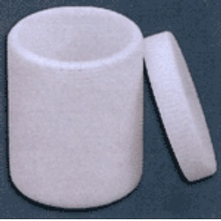 PTFE Vessel Or Jars With Screw Cap