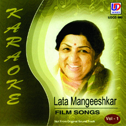 Lata Mangeshkar-Hindi Songs-Karaoke-Vol-1
