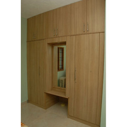 Wooden Furniture Services, Kitchen Wardrobes, Residential Interior ...