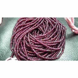 Superb AAA Pink Garnet Faceted Beads