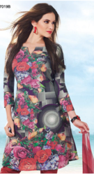Unstitched Digital Printed Suits