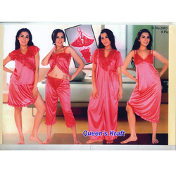 8 PCS. Set Bridal Nightwear