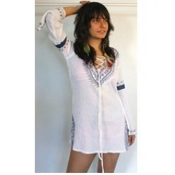 Cotton Embroidered Kaftan