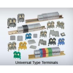 Polyamide 6.6 Rail Mounted Terminal Block
