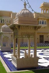 Carved Garden Gazebo