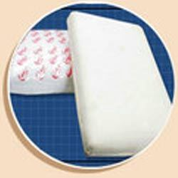 Rubber Foam Plain Pillows
