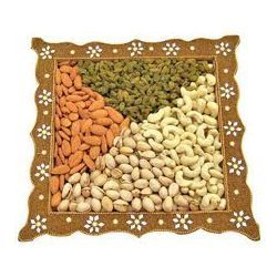 Decorative Dry Fruits Packing Tray
