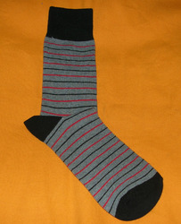 AOV /MN/ST/17 Men Stripe Socks
