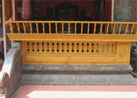 Steel Railings And Charupadi