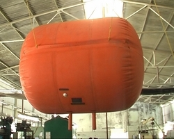 Rubber Gas Holder Balloon