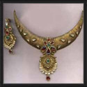 Gold Jadtar Necklace