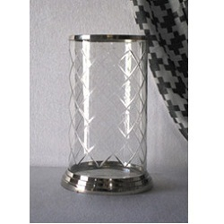 Antique Glass Metal Lantern