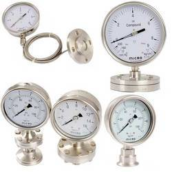 diaphragm sealed pressure gauge