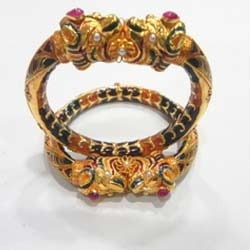Gold Antique Bangles