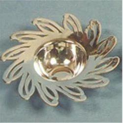 Decorative Silver Deepak