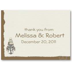 Deckle Edged Visiting Cards