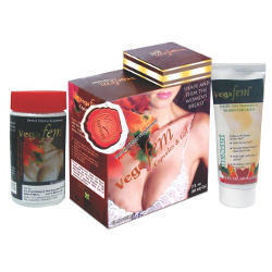 Vega Fem Breast Enhancer Gel and Capsules