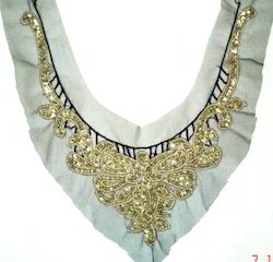 Beaded Neckline