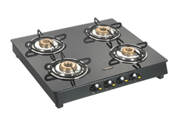 4 Burner Glass Top Lpg Stove
